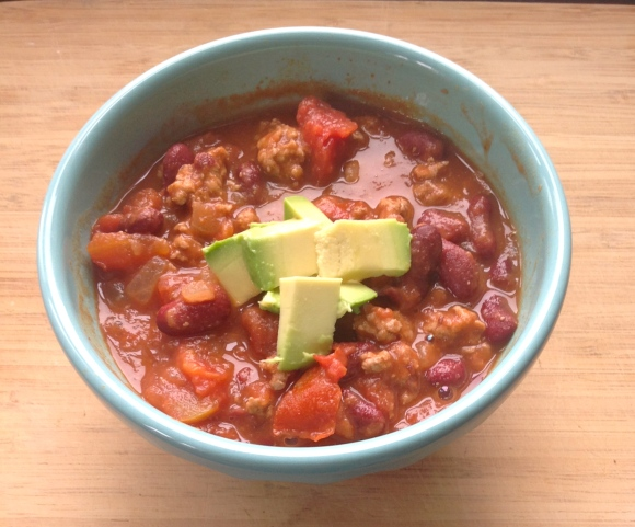 30 Minute Chili-For The Love of Expression