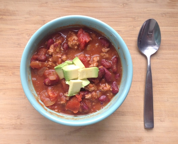 30 Minute Chili- For The Love of Expression