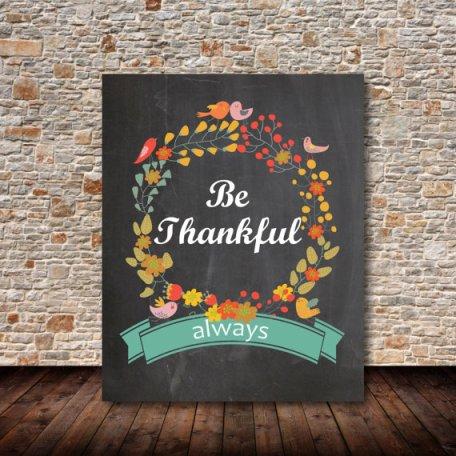 Thankfulprint